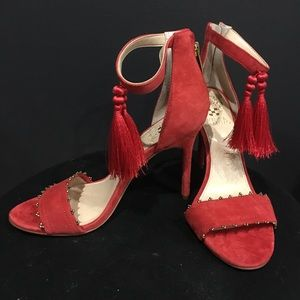 Vince Camuto Tassel Heels